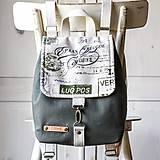 Batohy - Mini batôžtek *popísaný* - 10841473_