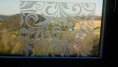 Polotovary - Sklenený panel na vitrínu/okno/okno dverí - 10842791_