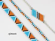 Náramky - Náramok - indiánsky - 10841093_