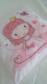 Textil - Vankúšik - princezná - 10841930_