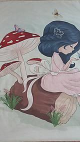 Textil - Detská deka s minky - dievčatko - 10842026_