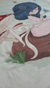 Textil - Detská deka s minky - dievčatko - 10842027_