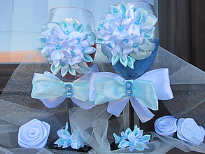 Svietidlá a sviečky - kvetinkové poháre so sviečkou - 10842749_