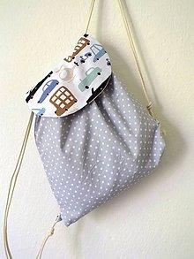 Detské tašky - Detský ruksak midi - Auto - 10841816_