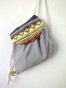 Detské tašky - Detský ruksak midi - Mexico II. - 10841991_