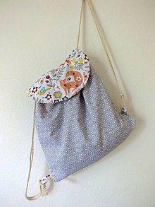 Detské tašky - Detský ruksak midi - Líška - 10843298_