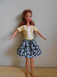 Hračky - Suknička pre barbie - 10841599_