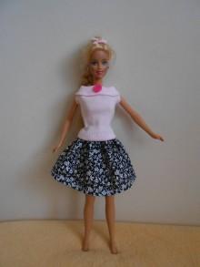 Hračky - Oblečenie pre barbie-2 ks - 10841698_