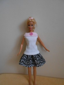 Hračky - Top pre barbie - 10841702_