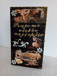 Krabičky - Krabica na alkohol - 10842023_