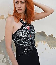 "Šaty - maľované šaty  ""STREET FASHION"" - 10844952_"