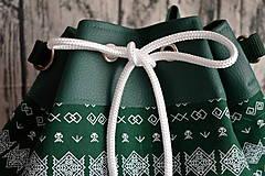 Batohy - Kabelko -batoh folklórny - 10845898_