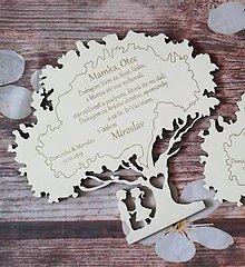 Darčeky pre svadobčanov - Poďakovanie rodičom - stromček - 10845157_