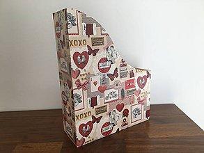 Krabičky - Zakladač Paríž a láska - 10843531_