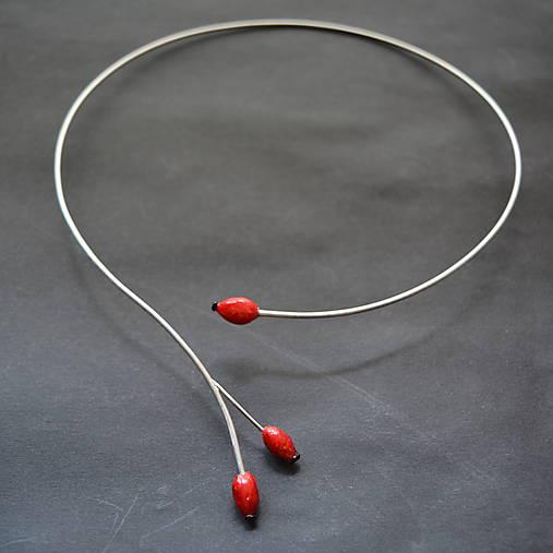 Recy náhrdelník šípky