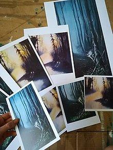 Papier - MINIPRINT alebo pohľadnice - zvedavý • túlavý - 10844483_