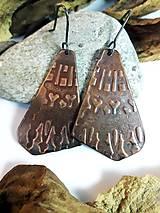 Náušnice - Tajomné symboly - 10844981_