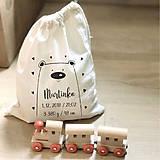 Iné tašky - Vrecko LiLu - macko I - 10845066_
