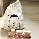 Iné tašky - Vrecko LiLu - tučniak - 10845075_