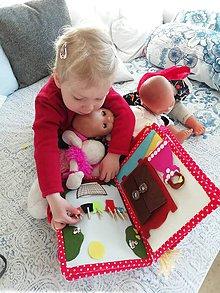 Hračky - Interaktívna kniha 2 - 10844365_
