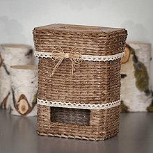 Krabičky - Zásobník na sáčky - 10846002_