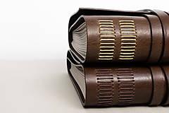Papiernictvo - Kožený fotoalbum Jorah - 10846108_