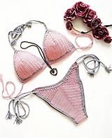 Bielizeň/Plavky - Háčkované plavky - ROSIE - 10843565_