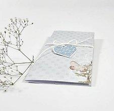 Papiernictvo - Darčeková obálka modrá - 10845374_