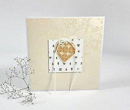 Papiernictvo - Blahoželanie II ku krstu/ prvému sv. prijímaniu - pohľadnica - 10845509_