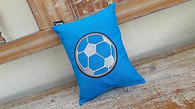 Textil - vankúšik- spinkáčik - pre futbalistu - 10849091_