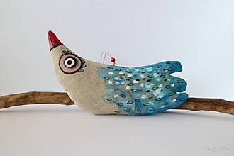 Dekorácie - vtáčinec okatý - 10848844_