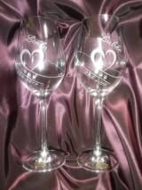 Nádoby - Svadobné poháre - 10846584_