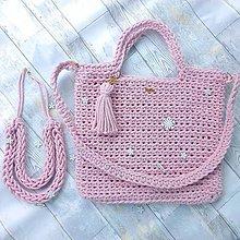 Nákupné tašky - Bag&neklace sada - 10847029_