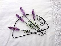 Dekorácie - z levanduľových polí... (16 x 14 cm) - 10846479_