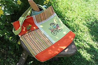 Nákupné tašky - Nákupná taška na plece - 10848478_