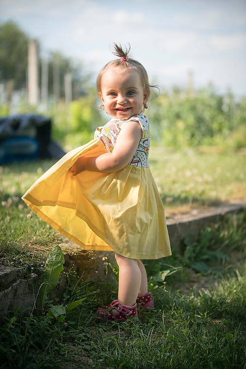 Detské oblečenie - Letné detské šaty - 10847658_
