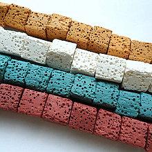 Minerály - Láva kocka-1ks - 10848763_