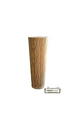 Nábytková noha 12cm, dub (bez uchytenia)