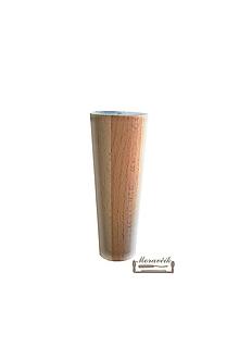 Nábytok - Nábytková noha 12cm, buk - 10846824_