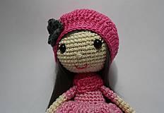 Dekorácie - Háčkovaná dekoračná bábika - 10847480_