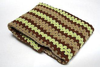 Textil - Háčkovaná deka - 10847512_