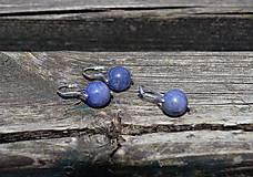 Sady šperkov - Strieborná rhodiovaná sada Tanzanit - 10846586_