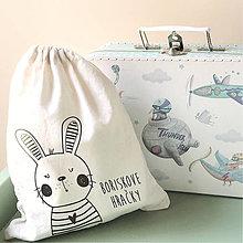 Iné tašky - Vrecko LiLu - zajačik - 10846635_