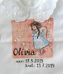 Detské oblečenie - košieľka na krst - 10846525_