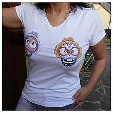 Tričká - Dámske tričko - OčiPuči Wincko vs. Fillipíno - 10846346_