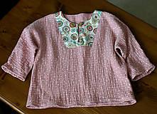Detské oblečenie - detská košieľka veľkosť 80 - 10847324_