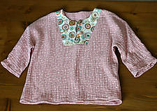 Detské oblečenie - detská košieľka veľkosť 80 - 10847326_