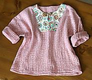 Detské oblečenie - detská košieľka veľkosť 80 - 10847327_