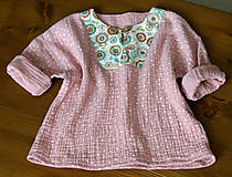 Detské oblečenie - detská košieľka veľkosť 80 - 10847328_