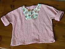 Detské oblečenie - detská košieľka veľkosť 80 - 10847329_